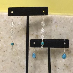 Grace & Heart set of Turquoise Earrings